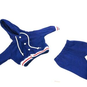 Vintage 2 Piece JC Penney Hooded Jacket And Pants